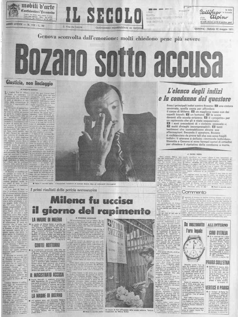 accusa di lorenzo bozano