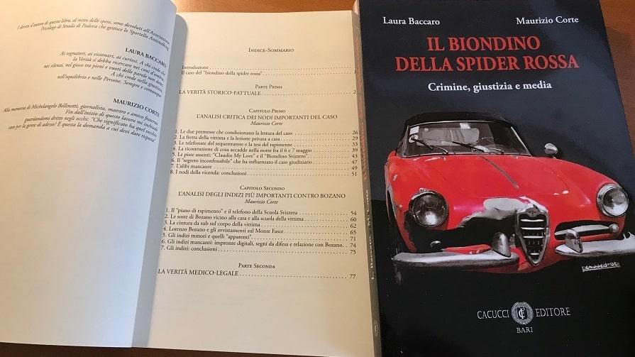 libro Il Biondino della Spider Rossa sul caso di Milena Sutter e Lorenzo Bozano - blog ilbiondino.org - Agenzia Corte&Media Verona