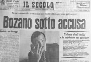 Lorenzo Bozano e il sequestro di Milena Sutter. E' Bozano l'unico sospettato