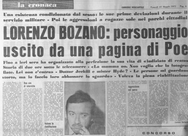Caso Sutter - Bozano. Piano di rapimento per il sequestro di Milena Sutter - blog ilbiondino.org - Agenzia Corte&Media Verona