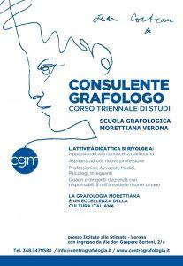 Corso per diventare Consulente Grafologo Morettiano