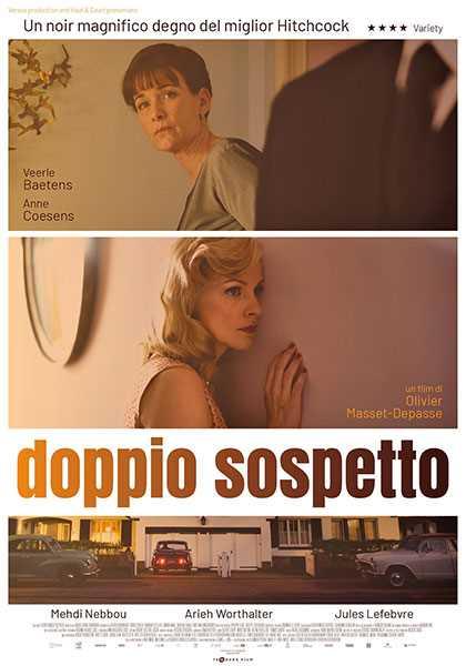 Film Doppio Sospetto - recensione - blog IlBiondino.org - Agenzia Corte&Media - articolo Maurizio Corte - 2020 - locandina