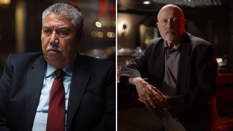 Gli ex investigatori Gil Carrillo e Frank Salerno - The Night Stalker - magazine ilbiondino.org - ProsMedia - Agenzia Corte&Media