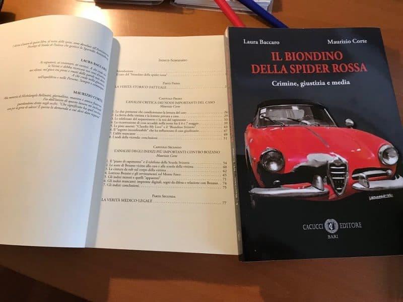 Il Biondino della Spider Rossa - libro sul rapimento e l'omicidio di Milena Sutter - il caso di Lorenzo Bozano - libro Cacucci Editore