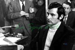 Il commissario Luigi Calabresi, assassinato a Milano nel 1972