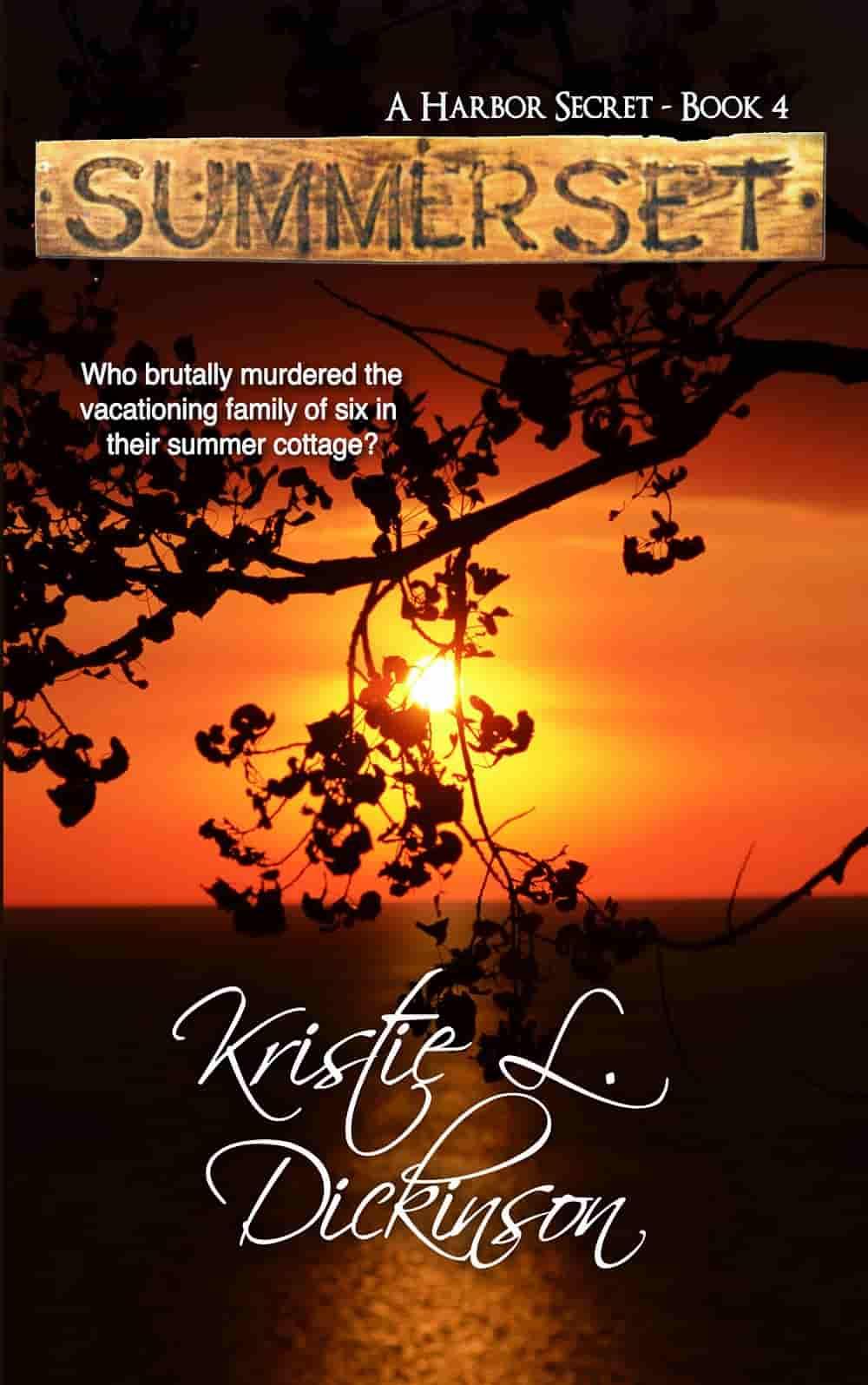 Kristie Dickinson - Summerset - romanzo thriller - magazine Il Biondino.org