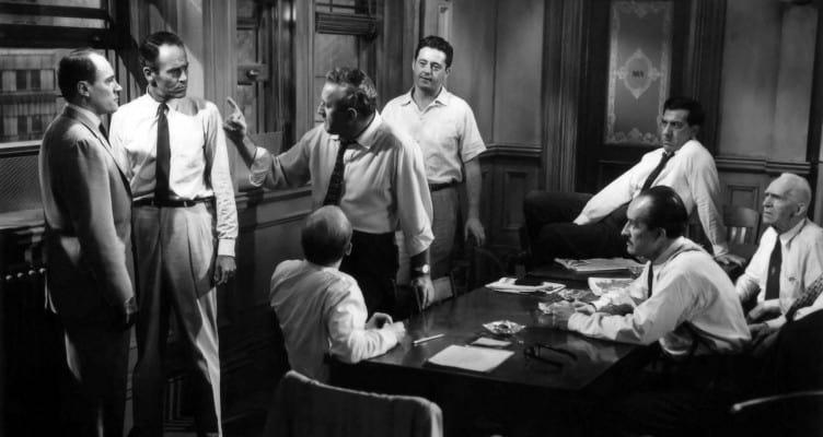 La parola ai giurati - film thriller giudiziario - 1957 - Sidney Lumet - magazine Il Biondino della Spider Rossa - Agenzia Corte&Media -