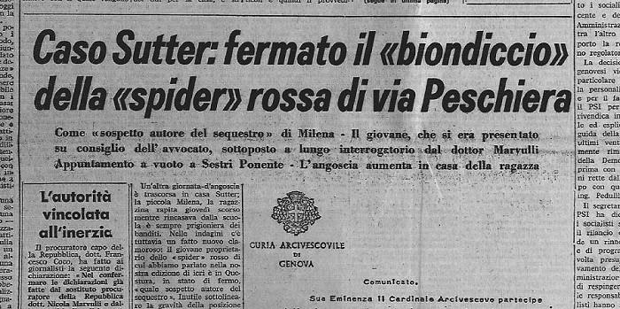 Lorenzo Bozano - Milena Sutter - Il Biondino della Spider Rossa - IlBiondino.Org - blog ---