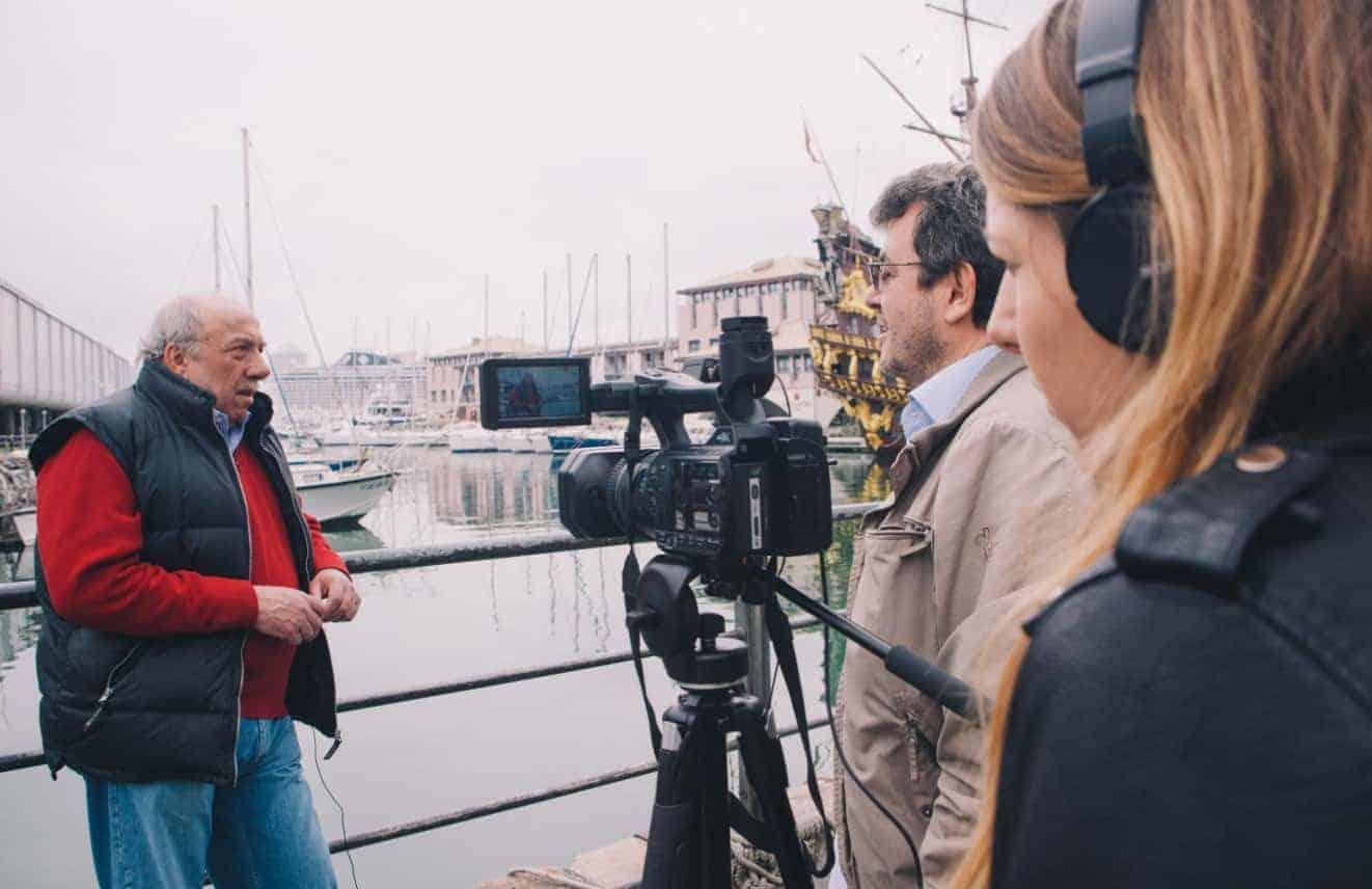 Lorenzo Bozano intervistato nel 2017 da Maurizio Corte - Biondino della Spider Rossa
