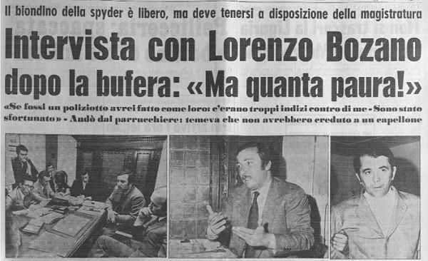 Lorenzo Bozano - sequestro e omicidio milena sutter - ilbiondino.org