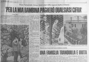Rapimento-Omicidio - Milena Sutter - Lorenzo Bozano - Biondino Spider Rossa - Biondino.org - a