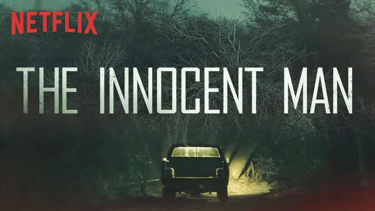 ecensione - The Innocent Man - Innocente - blog Il Biondino della Spider Rossa - Agenzia Corte&Media - docu-film-min