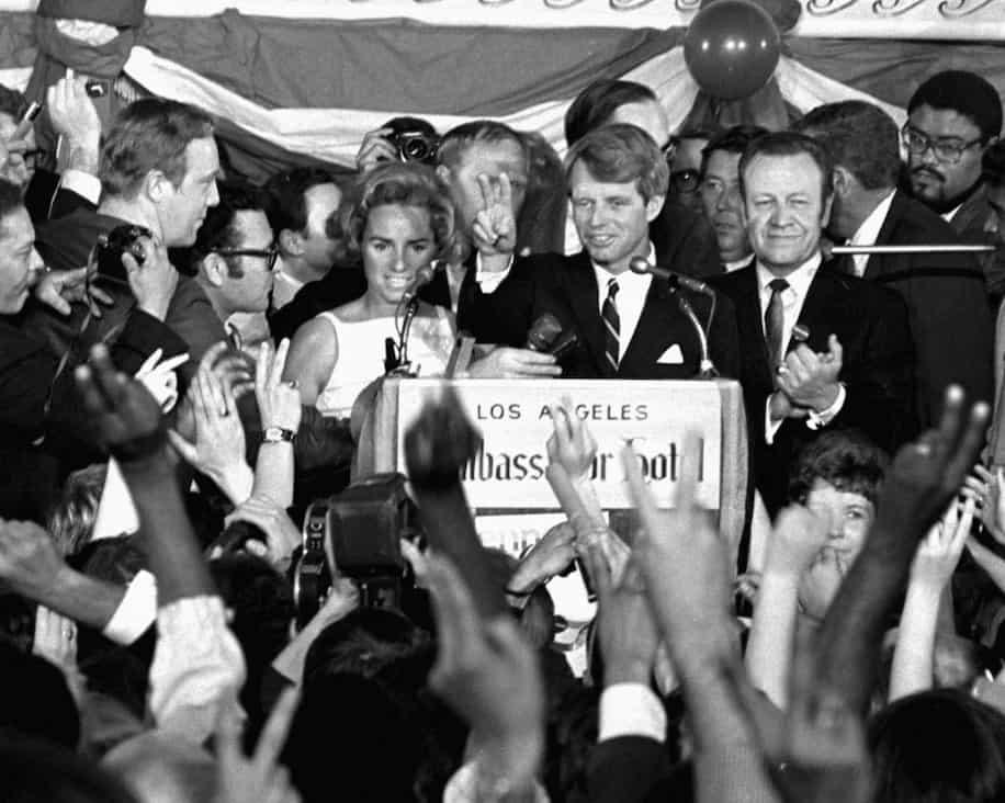 Robert Kennedy - ucciso nel 1968 con la moglie Ethel - Stati Uniti - magazine ilbiondino.org - ProsMedia - Agenzia Corte&Media