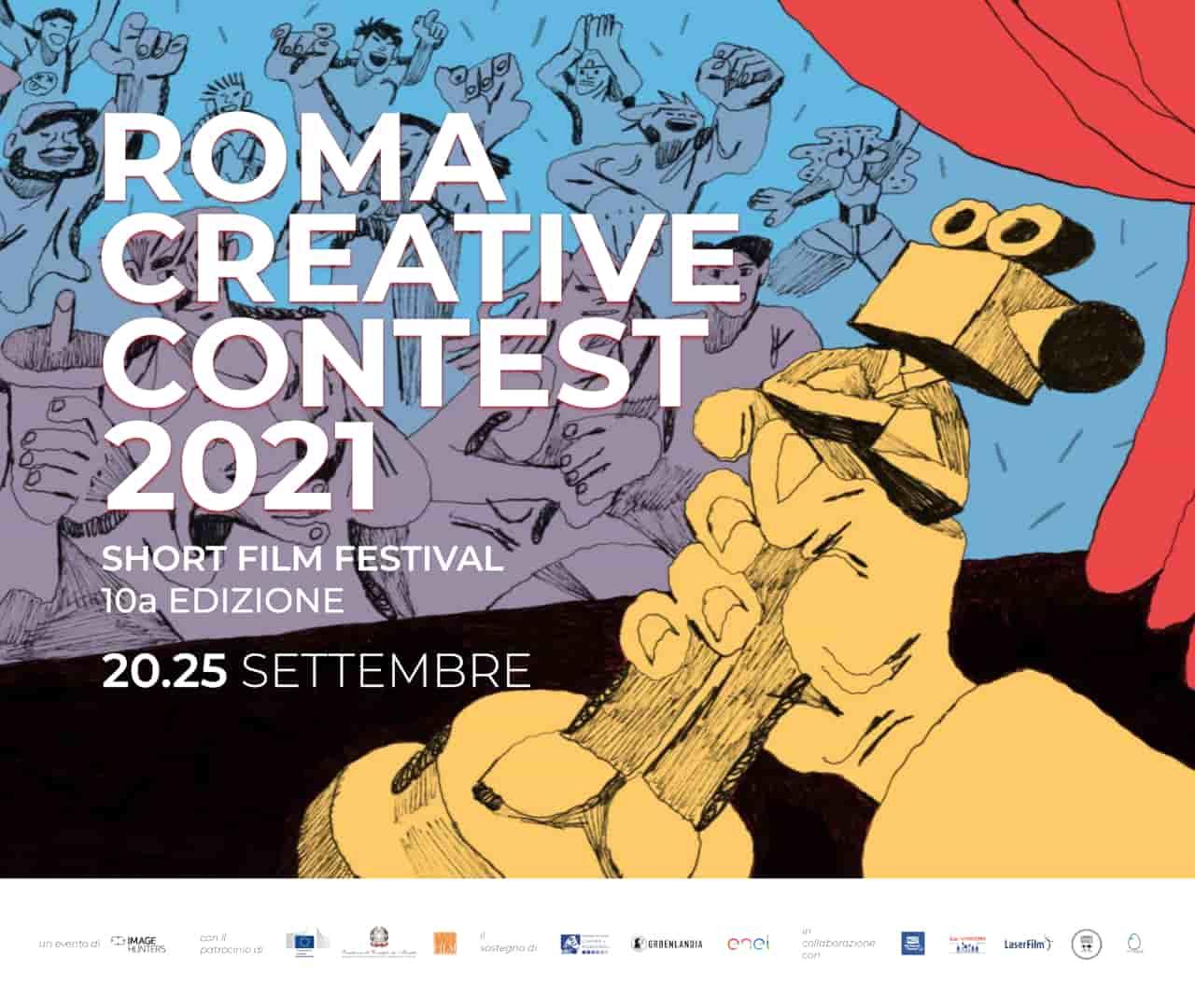 Roma Creative Contest 2021 - Festival Internazionale dei Corti - blog ilbiondino.org - ProsMedia - Agenzia Corte&Media-