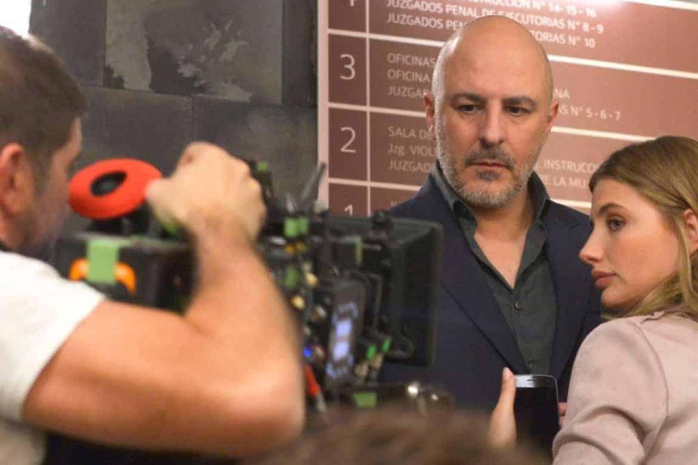 Serie televisive Amazon Prime - Caronte - riprese sul set - magazine Il Biondino della Spider Rossa - ProsMedia - Agenzia Corte&Media-min