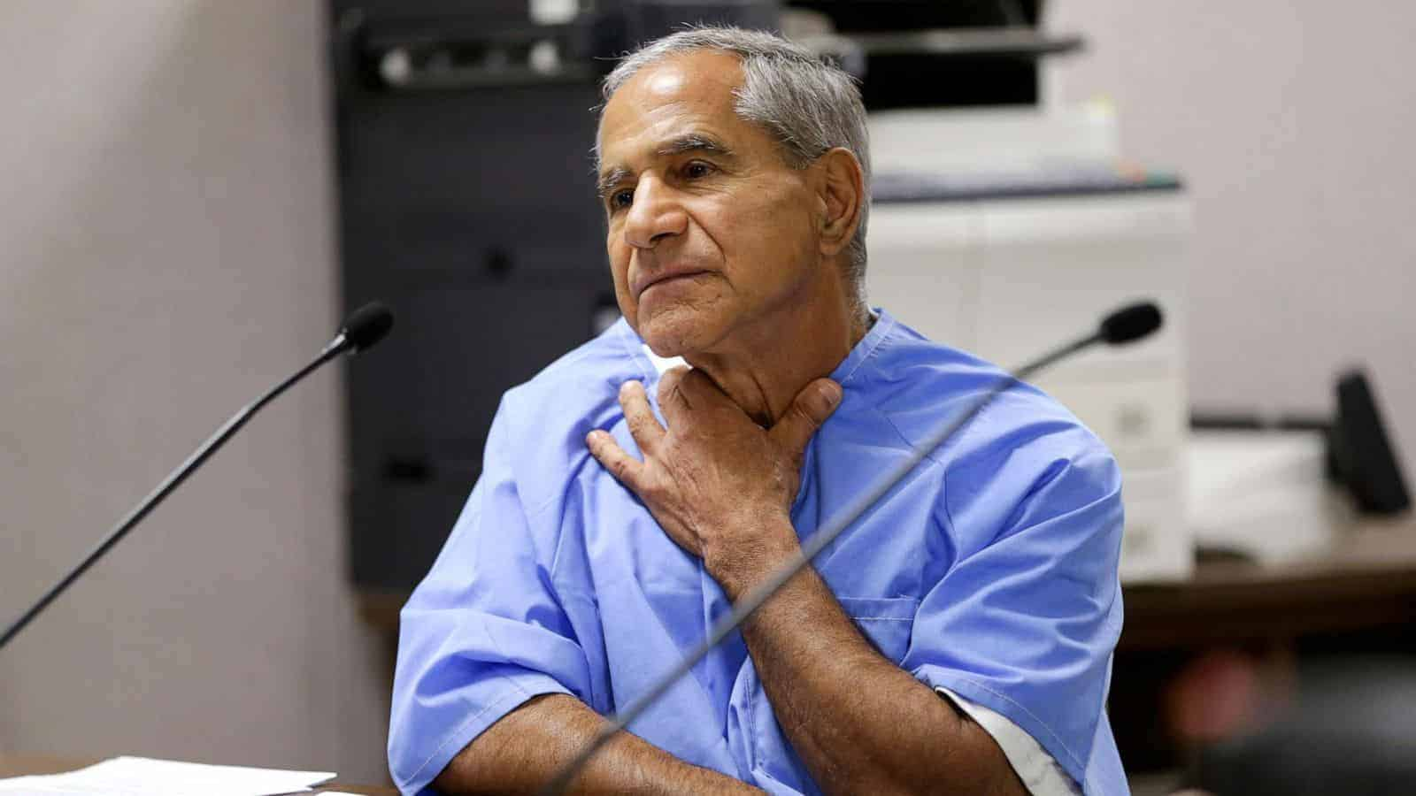 Sirhan Sirhan oggi, condannato per l'omicidio di Bob Kennedy ucciso nel 1968 - Stati Uniti - magazine ilbiondino.org - ProsMedia - Agenzia Corte&Media-min