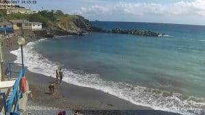 Spiaggia di Priaruggia a Genova - Qui fu trovato il corpo di Milena Sutter nel maggio 1971