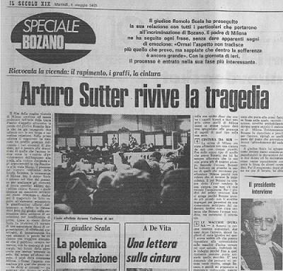omicidio genova Milena Sutter - Lorenzo Bozano - IlBiondino.org