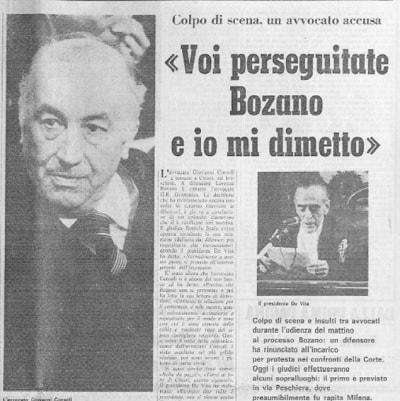 omicidio genova sequestro Milena Sutter - Lorenzo Bozano - IlBiondino.org